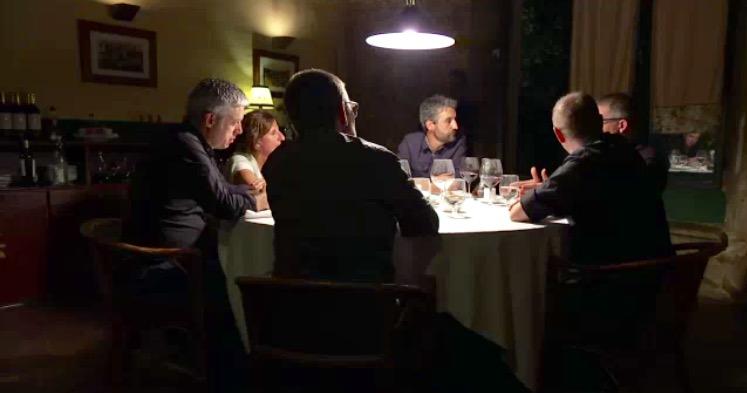 """Can Cortada recibe los invitados del """"No serà fàcil"""""""