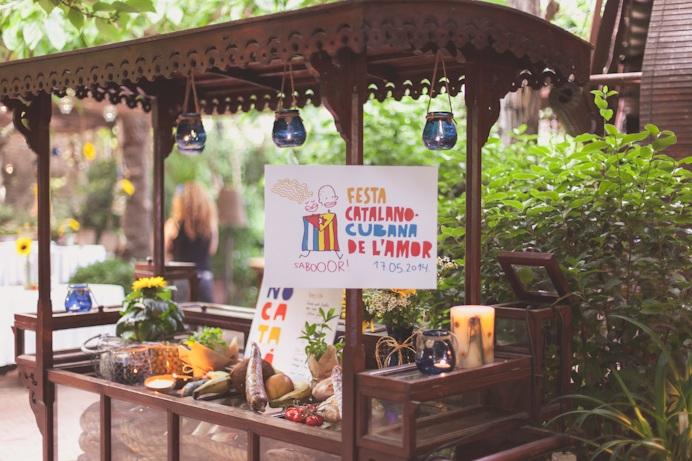 Fiesta catalano-cubana del amor en Can Travi Nou