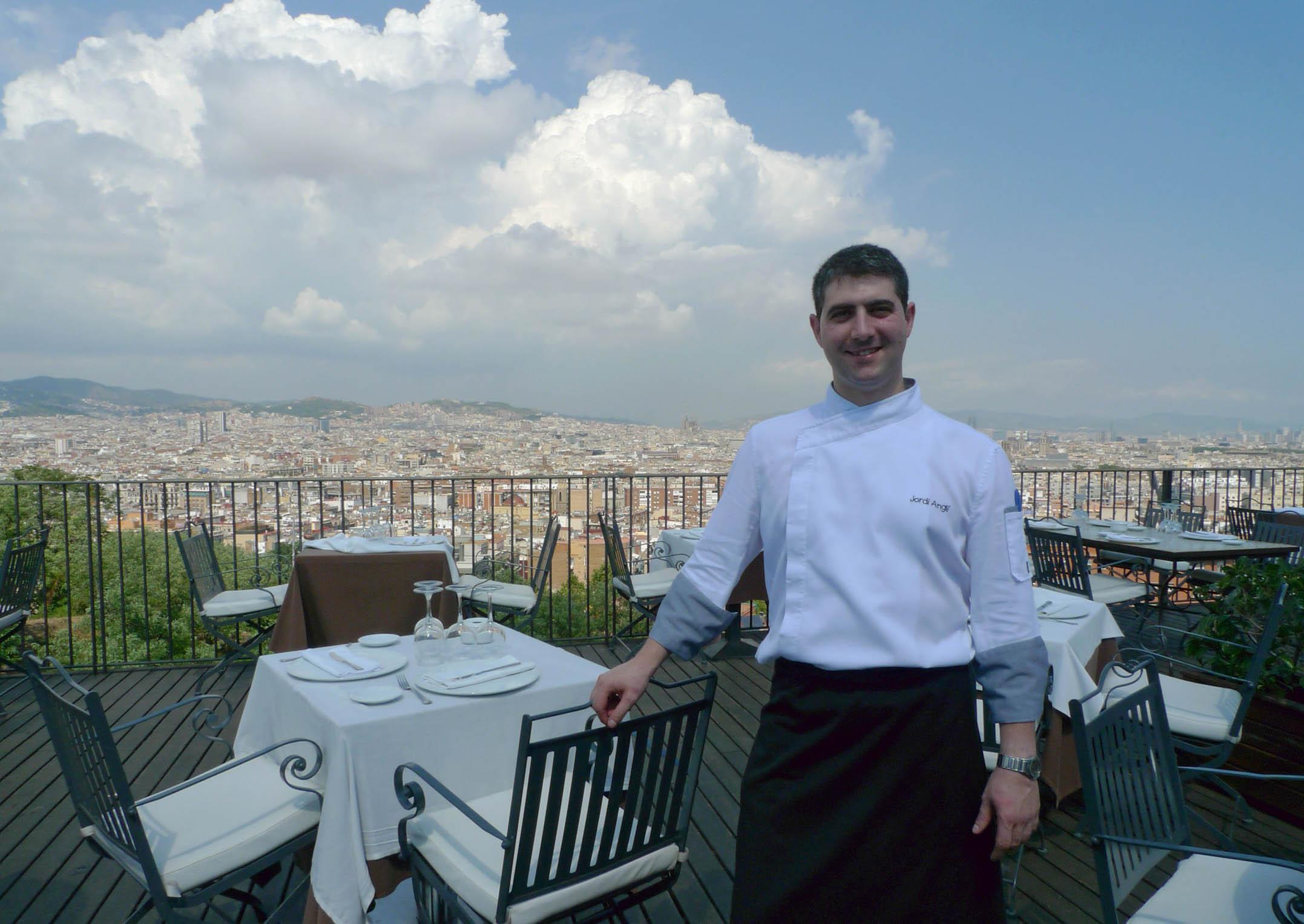Jordi Anglí, el prestigioso chef del Xalet de Montjuïc