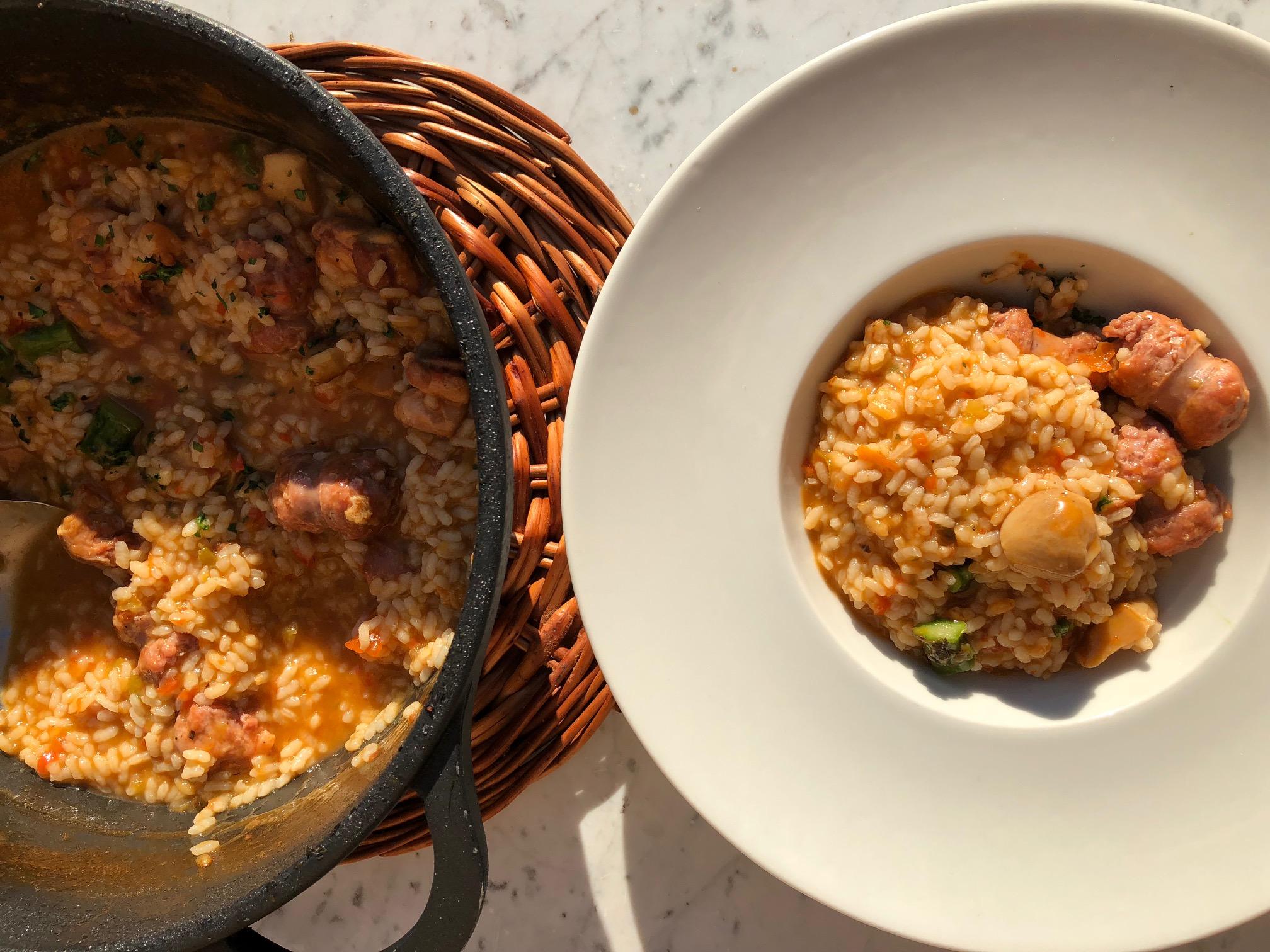 Una receta de Can Cortada presente en el semanal Zazpika