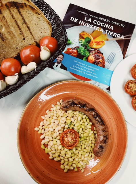 Can Cortada participa en el llibre de receptes de ESPAÑA DIRECTO